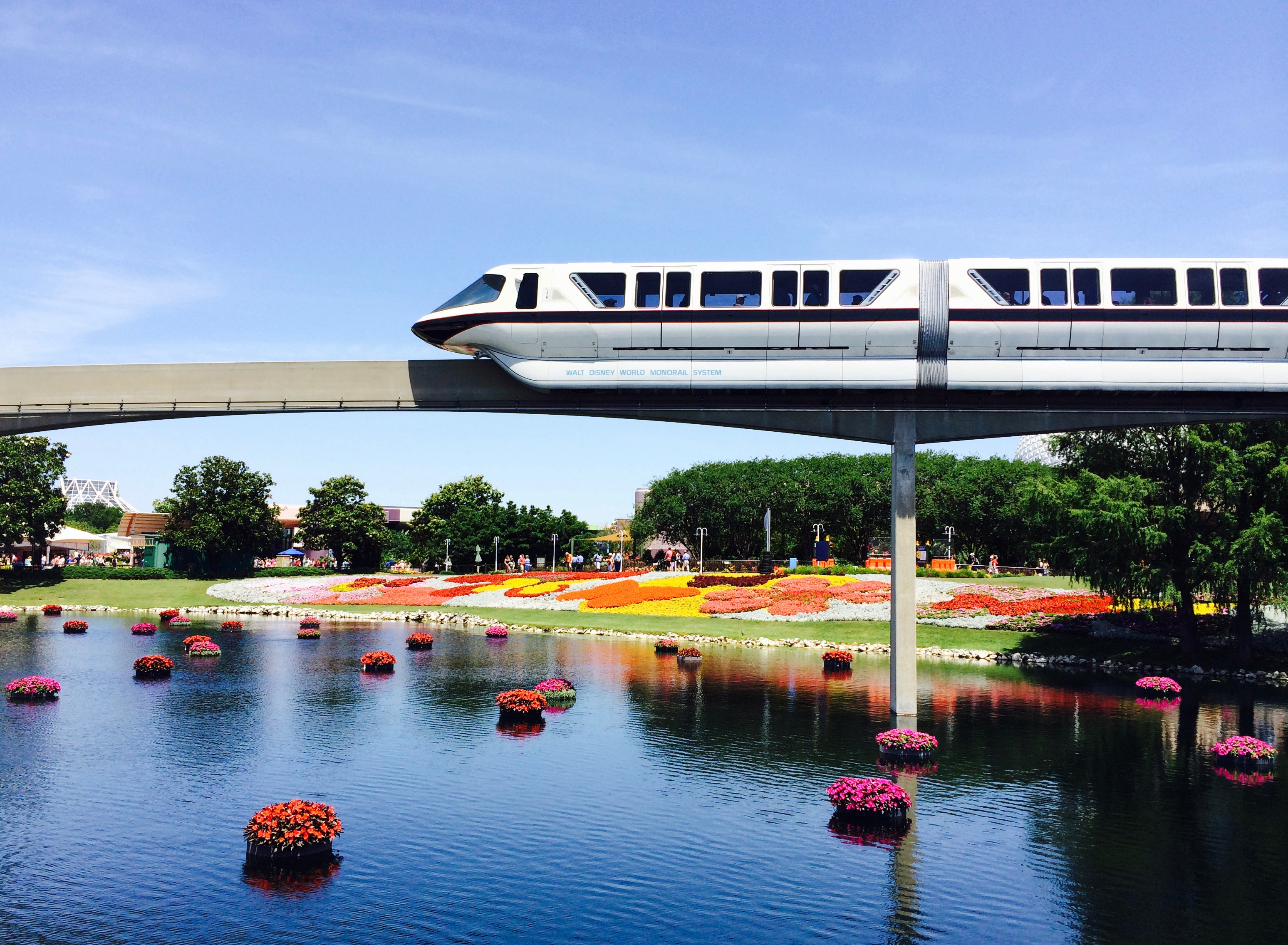 Guests who stay at a Walt Disney World resort benefit from free transportation such as the Monorail