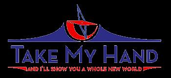 Take My Hand Travel Logo
