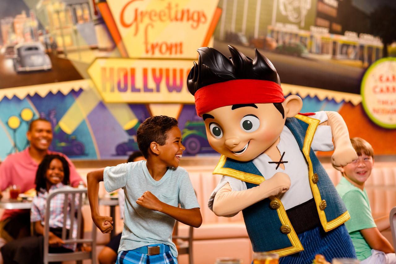 Disney Jr Play n Dine at Hollywood and Vine