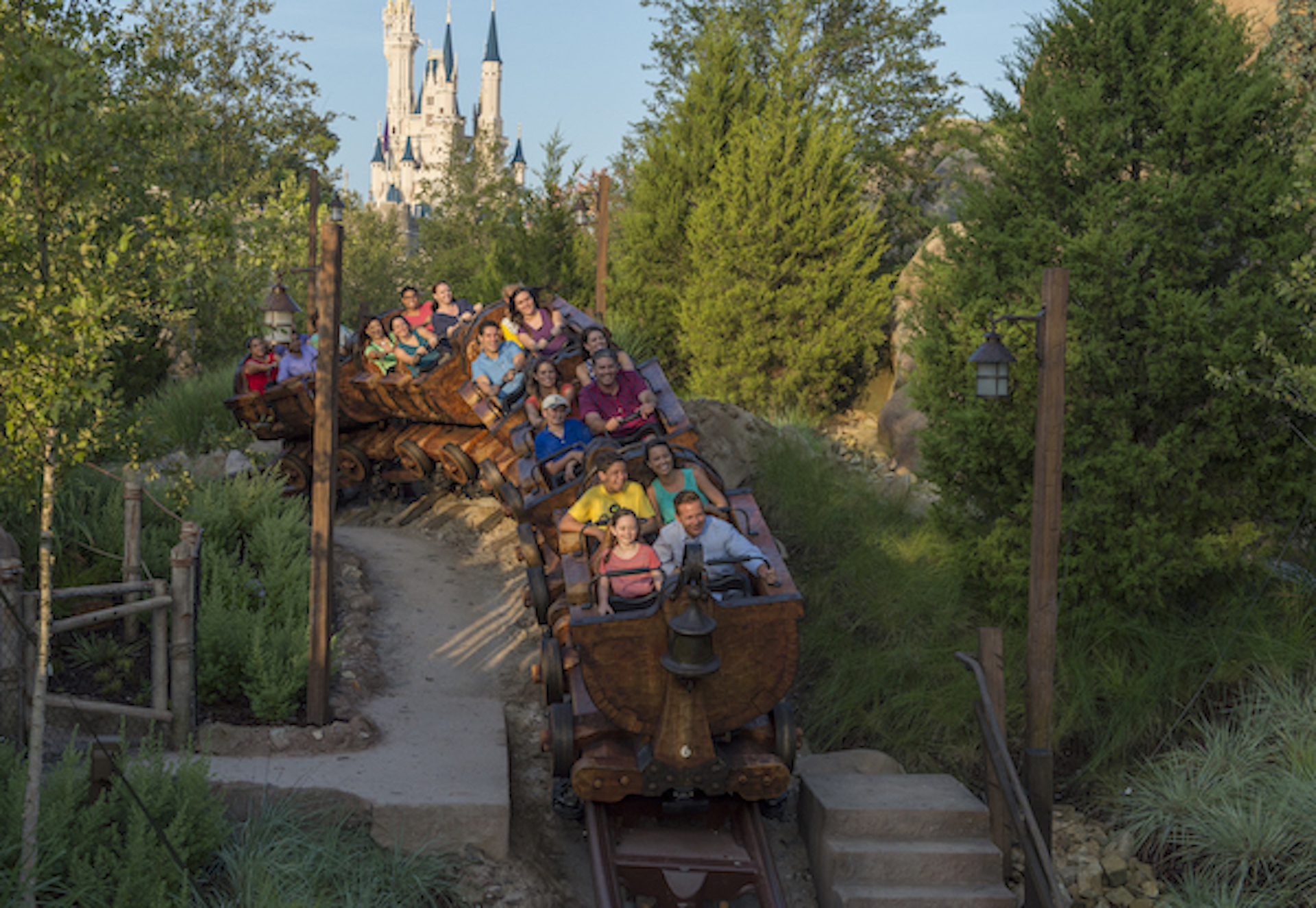 Use the Fastpass+ system to reserve a time to ride Big Thunder Mountain Railroad
