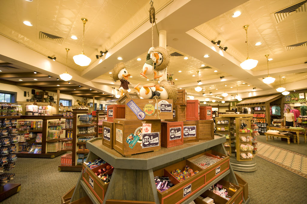 Guests staying at a WDW resort can take advantage of many shopping conveniences