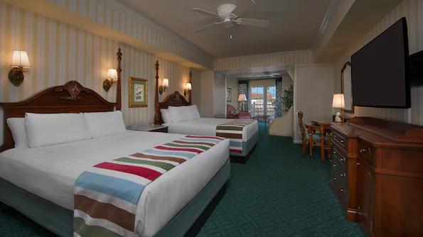 boardwalk resort deluxe room
