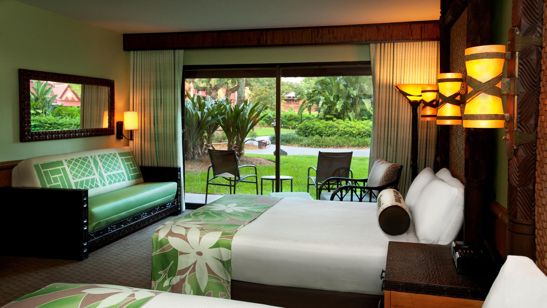 polynesian resort standard room