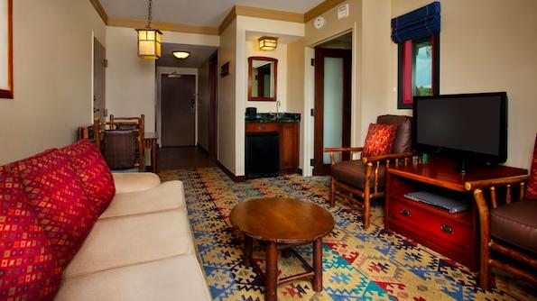 wilderness lodge deluxe room