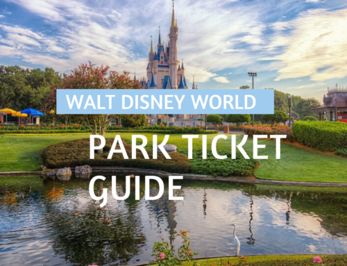 Walt Disney World Park Ticket Guide