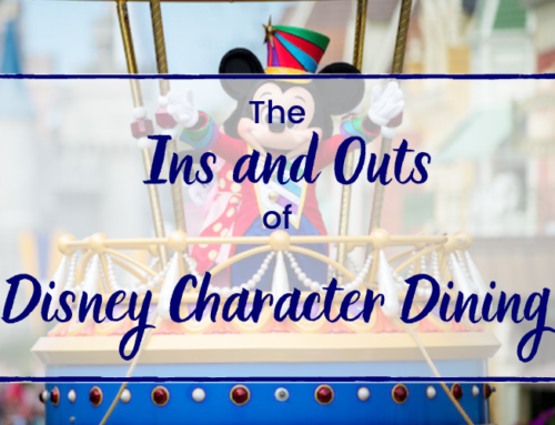 The Ins and Outs of Disney Character Dining